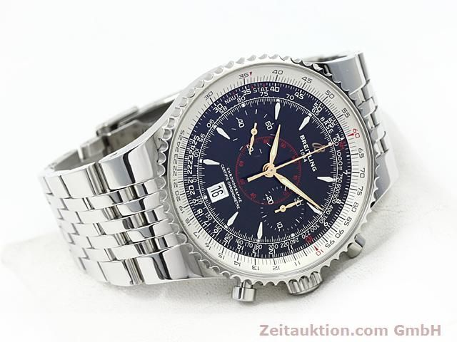 Used luxury watch Breitling Montbrillant steel automatic Kal. ETA 7753 Ref. A23340  | 140524 03