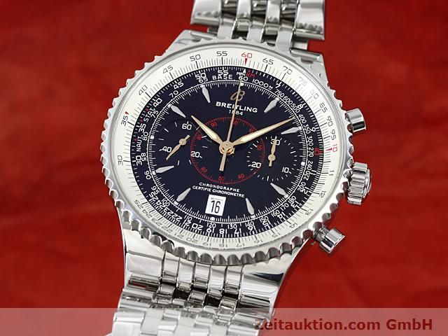 Used luxury watch Breitling Montbrillant steel automatic Kal. ETA 7753 Ref. A23340  | 140524 04