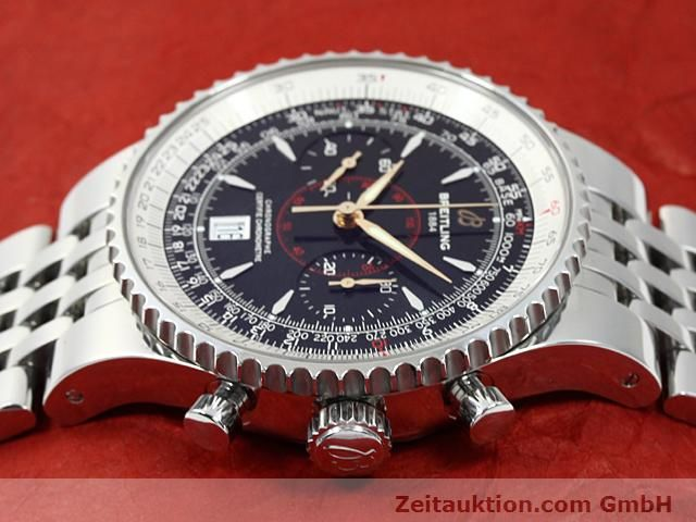 Used luxury watch Breitling Montbrillant steel automatic Kal. ETA 7753 Ref. A23340  | 140524 05