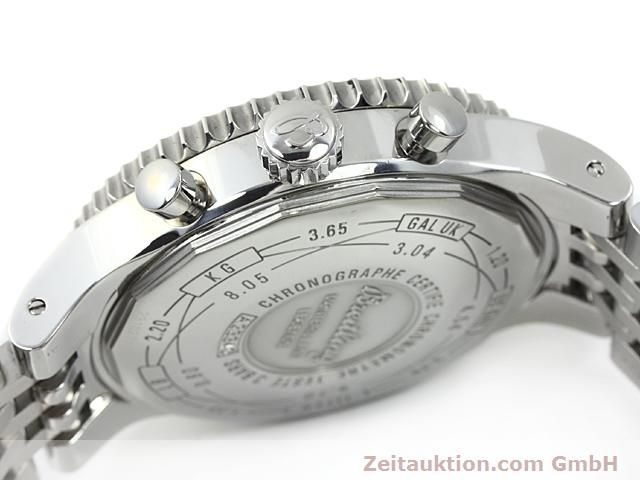 Used luxury watch Breitling Montbrillant steel automatic Kal. ETA 7753 Ref. A23340  | 140524 11