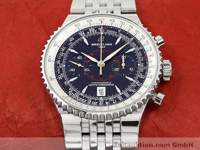 Used luxury watch Breitling Montbrillant steel automatic Kal. ETA 7753 Ref. A23340  | 140524 16