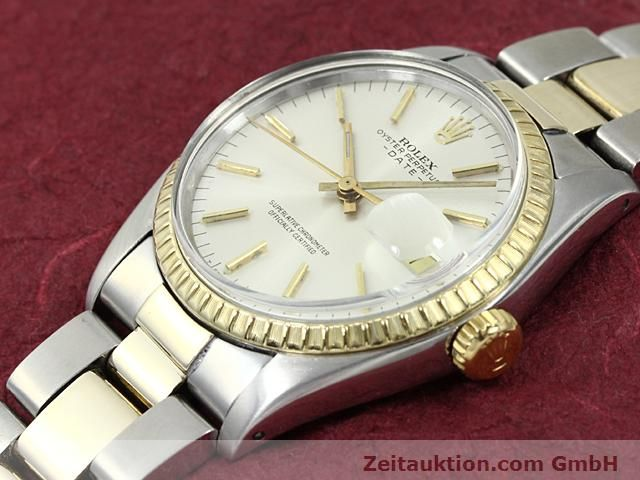 Used luxury watch Rolex Date steel / gold automatic Kal. 1570 Ref. 1503  | 140526 01