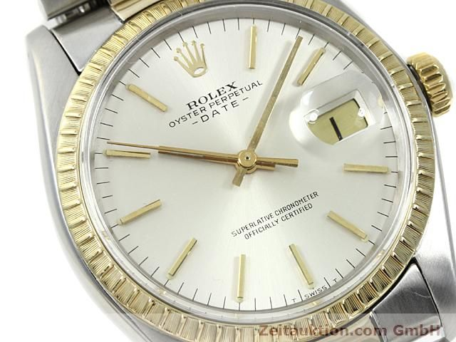 Used luxury watch Rolex Date steel / gold automatic Kal. 1570 Ref. 1503  | 140526 02
