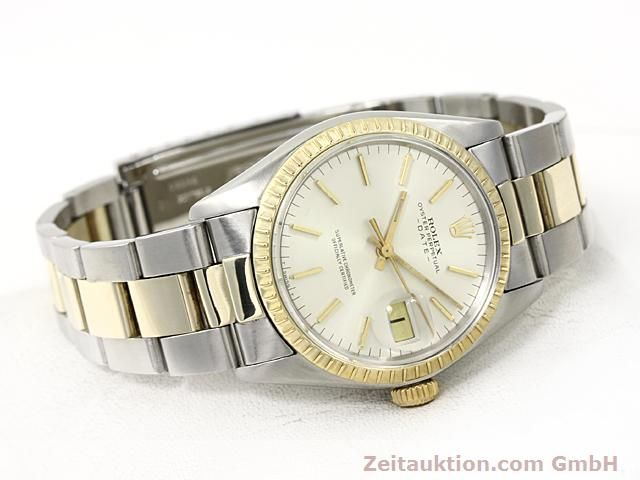 Used luxury watch Rolex Date steel / gold automatic Kal. 1570 Ref. 1503  | 140526 03