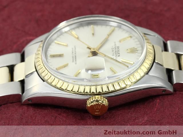 Used luxury watch Rolex Date steel / gold automatic Kal. 1570 Ref. 1503  | 140526 05