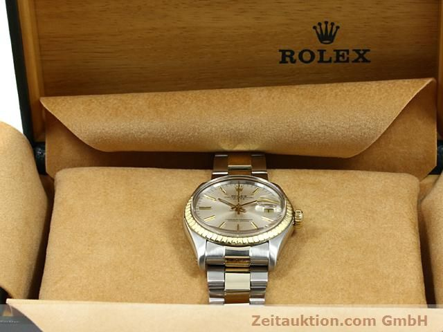 Used luxury watch Rolex Date steel / gold automatic Kal. 1570 Ref. 1503  | 140526 07