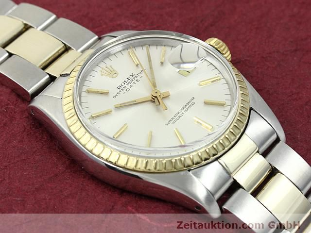 Used luxury watch Rolex Date steel / gold automatic Kal. 1570 Ref. 1503  | 140526 13