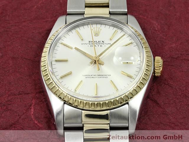 Used luxury watch Rolex Date steel / gold automatic Kal. 1570 Ref. 1503  | 140526 14