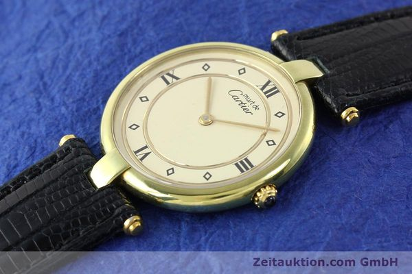 Used luxury watch Cartier Vermeil silver-gilt quartz Kal. 690  | 140527 01