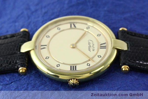 Used luxury watch Cartier Vermeil silver-gilt quartz Kal. 690  | 140527 05