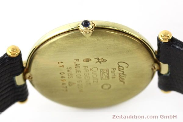 Used luxury watch Cartier Vermeil silver-gilt quartz Kal. 690  | 140527 08