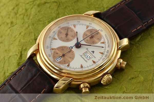 Used luxury watch Maurice Lacroix Croneo gold-plated automatic Kal. VAL 7750 Ref. 39353  | 140529 01
