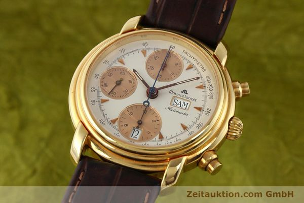 Used luxury watch Maurice Lacroix Croneo gold-plated automatic Kal. VAL 7750 Ref. 39353  | 140529 04