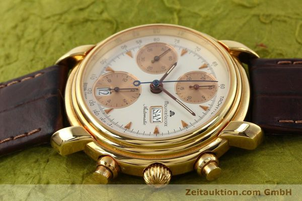 Used luxury watch Maurice Lacroix Croneo gold-plated automatic Kal. VAL 7750 Ref. 39353  | 140529 05