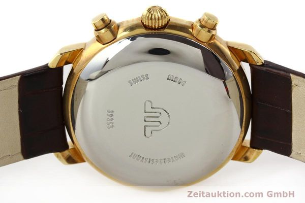 Used luxury watch Maurice Lacroix Croneo gold-plated automatic Kal. VAL 7750 Ref. 39353  | 140529 09