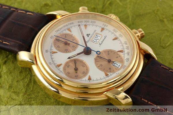 Used luxury watch Maurice Lacroix Croneo gold-plated automatic Kal. VAL 7750 Ref. 39353  | 140529 14