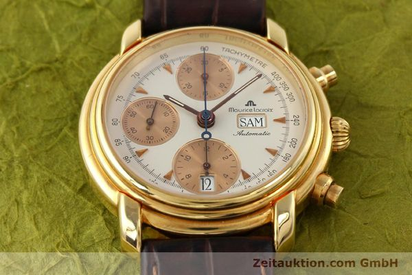 Used luxury watch Maurice Lacroix Croneo gold-plated automatic Kal. VAL 7750 Ref. 39353  | 140529 15