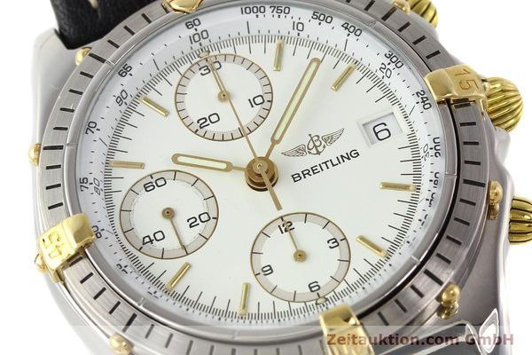 Used luxury watch Breitling Chronomat gilt steel automatic Kal. VAL 7750 Ref. 81950B13047  | 140537 02