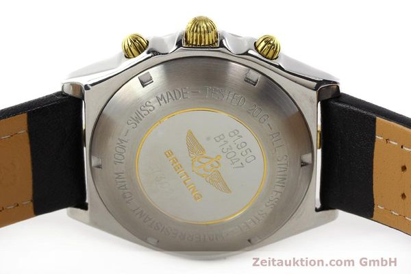 Used luxury watch Breitling Chronomat gilt steel automatic Kal. VAL 7750 Ref. 81950B13047  | 140537 09
