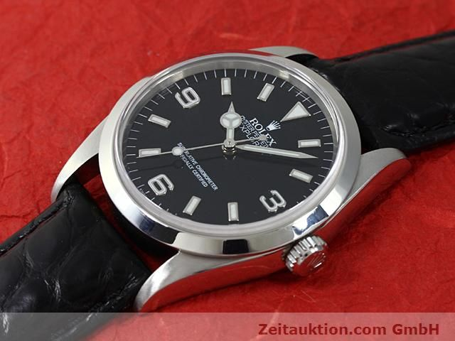 Used luxury watch Rolex Explorer steel automatic Kal. 3000 Ref. 14270  | 140538 01