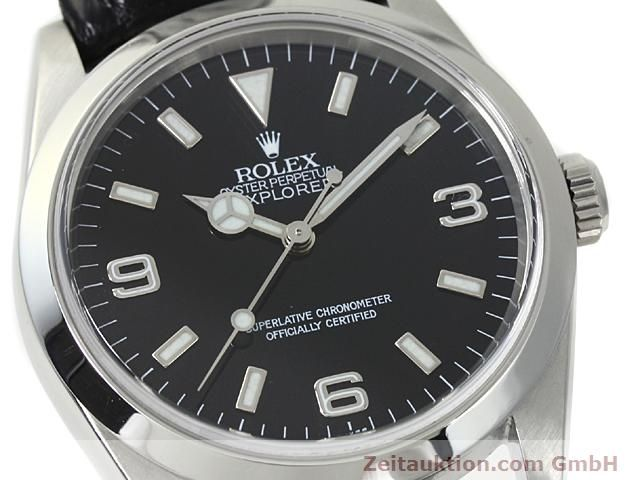 Used luxury watch Rolex Explorer steel automatic Kal. 3000 Ref. 14270  | 140538 02