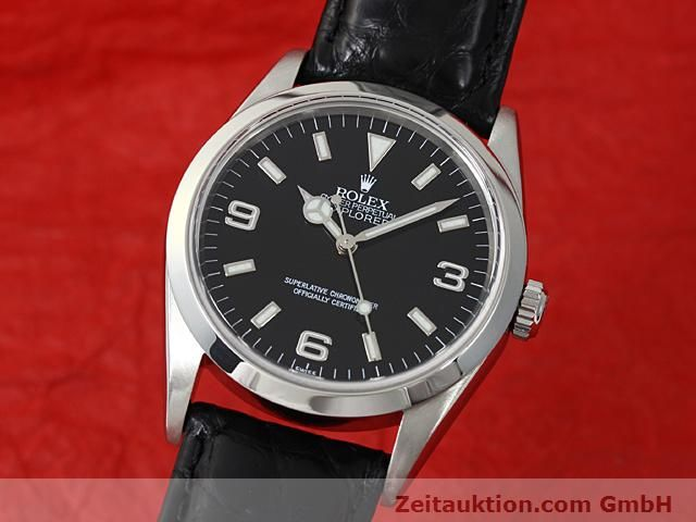 Used luxury watch Rolex Explorer steel automatic Kal. 3000 Ref. 14270  | 140538 04