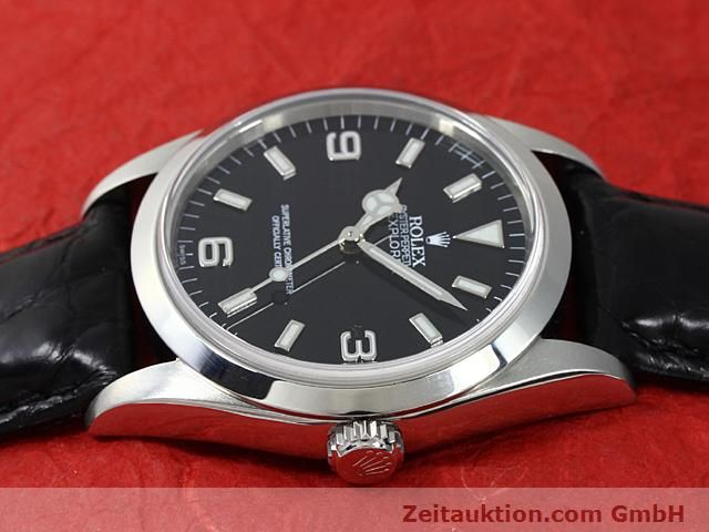 Used luxury watch Rolex Explorer steel automatic Kal. 3000 Ref. 14270  | 140538 05