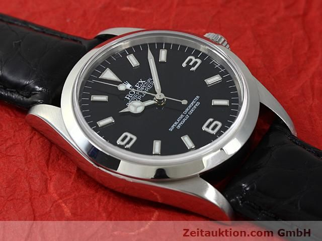 Used luxury watch Rolex Explorer steel automatic Kal. 3000 Ref. 14270  | 140538 12