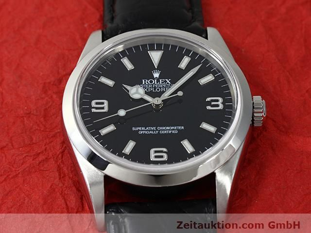 Used luxury watch Rolex Explorer steel automatic Kal. 3000 Ref. 14270  | 140538 13