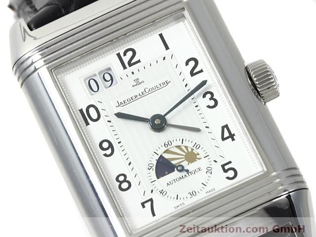Used luxury watch Jaeger Le Coultre Reverso steel automatic Kal. 970 Ref. 240.8.72  | 140539 02