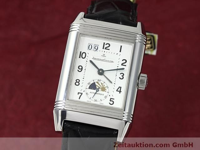 Used luxury watch Jaeger Le Coultre Reverso steel automatic Kal. 970 Ref. 240.8.72  | 140539 04