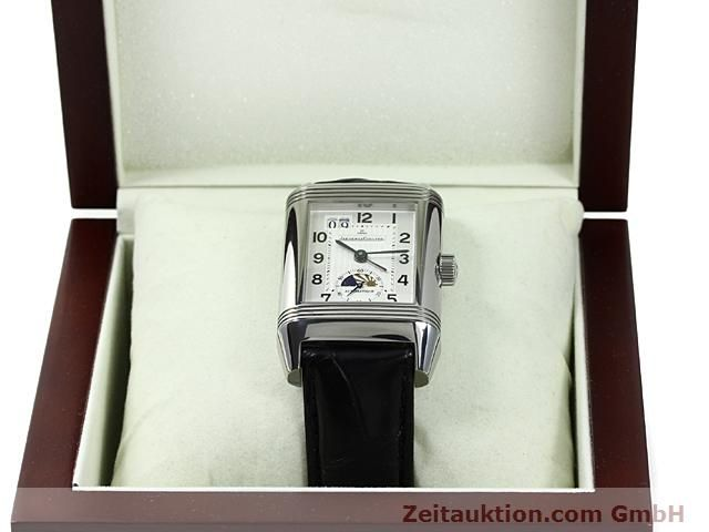 Used luxury watch Jaeger Le Coultre Reverso steel automatic Kal. 970 Ref. 240.8.72  | 140539 07