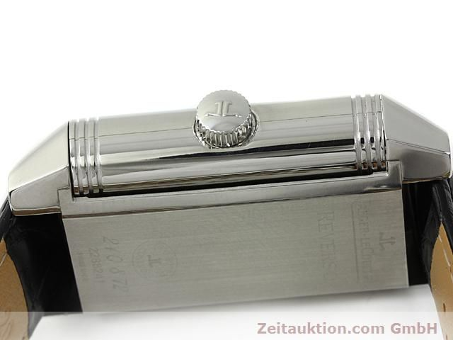 Used luxury watch Jaeger Le Coultre Reverso steel automatic Kal. 970 Ref. 240.8.72  | 140539 08