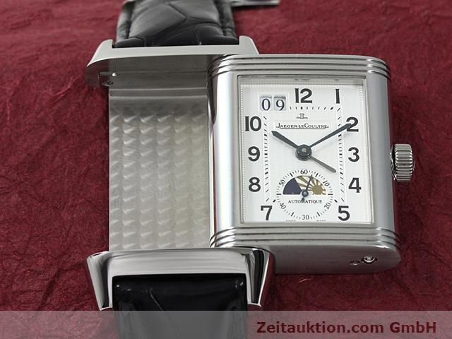 Used luxury watch Jaeger Le Coultre Reverso steel automatic Kal. 970 Ref. 240.8.72  | 140539 14