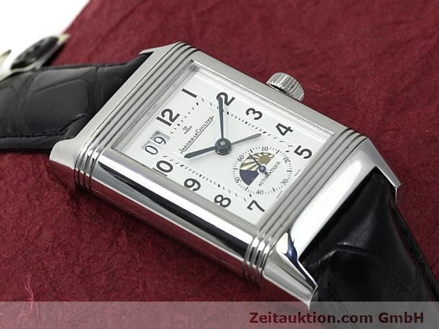 Used luxury watch Jaeger Le Coultre Reverso steel automatic Kal. 970 Ref. 240.8.72  | 140539 15