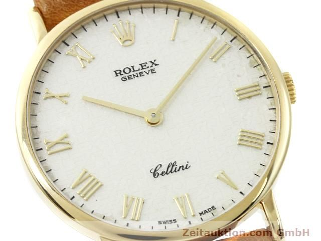Used luxury watch Rolex Cellini 18 ct gold manual winding Kal. 1601 Ref. 5112  | 140543 02