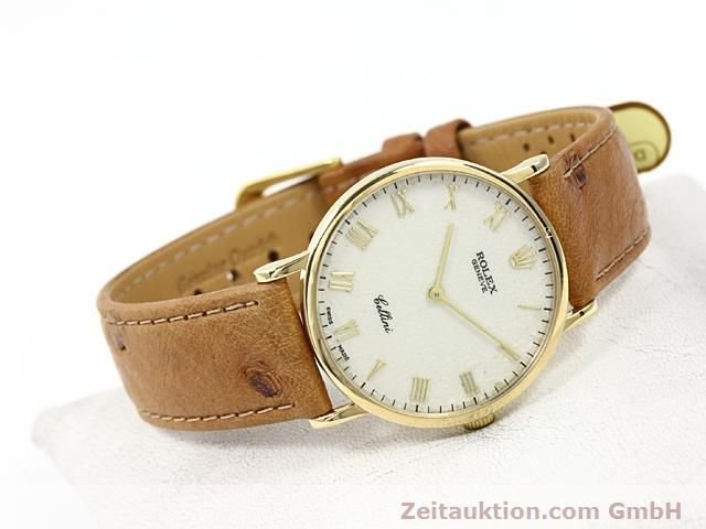 Used luxury watch Rolex Cellini 18 ct gold manual winding Kal. 1601 Ref. 5112  | 140543 03