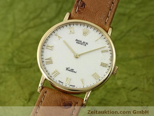 Used luxury watch Rolex Cellini 18 ct gold manual winding Kal. 1601 Ref. 5112  | 140543 04