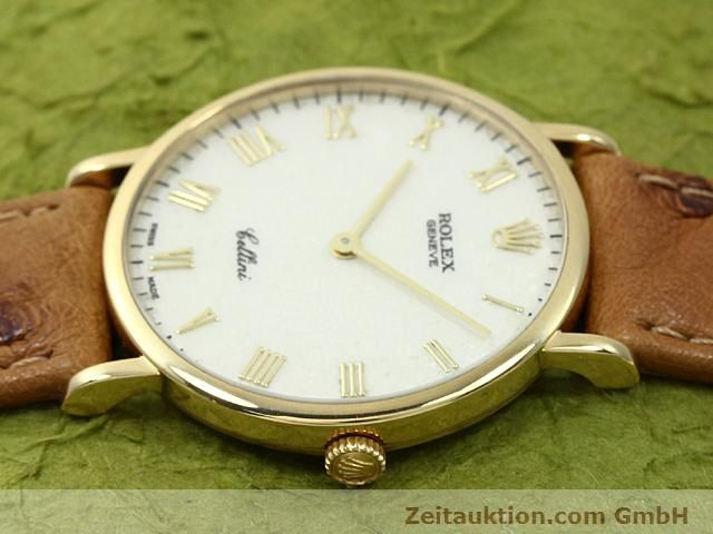 Used luxury watch Rolex Cellini 18 ct gold manual winding Kal. 1601 Ref. 5112  | 140543 05