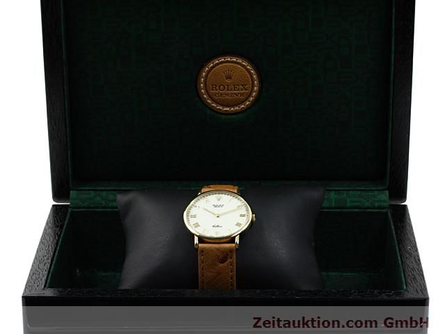 Used luxury watch Rolex Cellini 18 ct gold manual winding Kal. 1601 Ref. 5112  | 140543 07