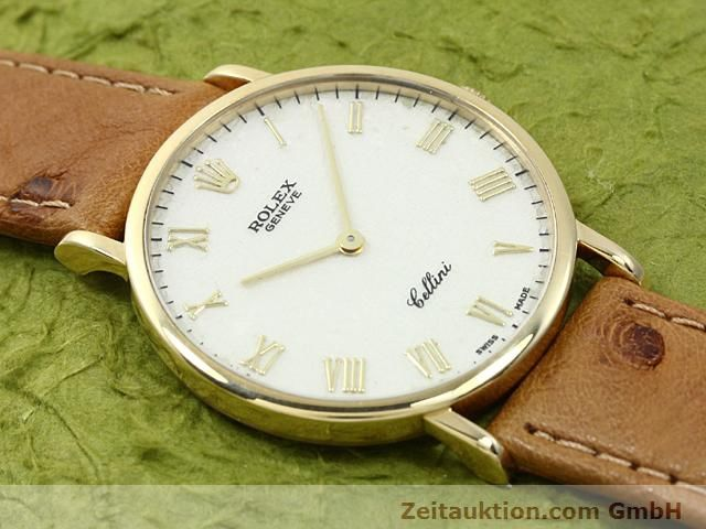 Used luxury watch Rolex Cellini 18 ct gold manual winding Kal. 1601 Ref. 5112  | 140543 12