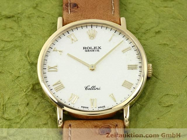 Used luxury watch Rolex Cellini 18 ct gold manual winding Kal. 1601 Ref. 5112  | 140543 13