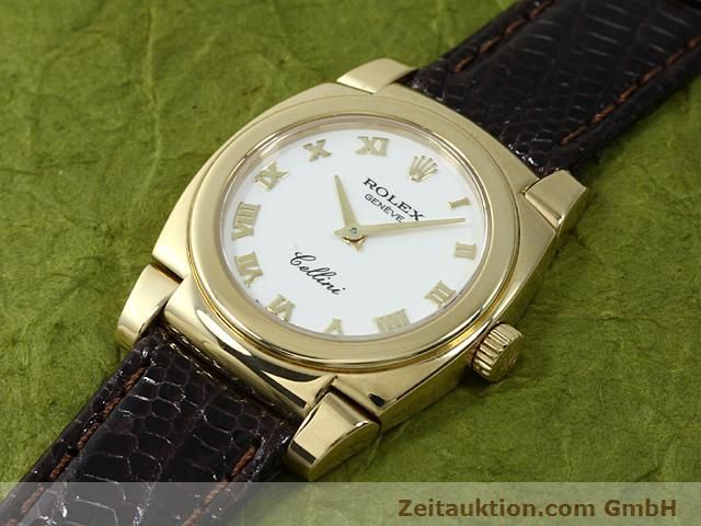 Used luxury watch Rolex Cellini 18 ct gold manual winding Kal. 1602 Ref. 5310  | 140544 01