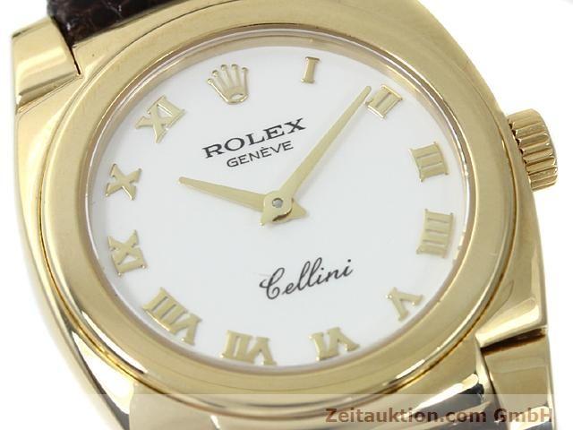Used luxury watch Rolex Cellini 18 ct gold manual winding Kal. 1602 Ref. 5310  | 140544 02