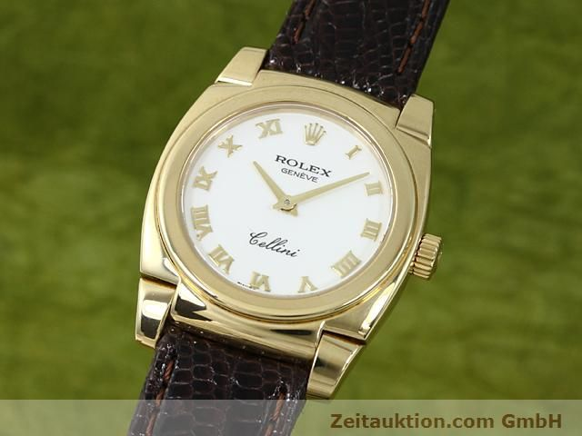 Used luxury watch Rolex Cellini 18 ct gold manual winding Kal. 1602 Ref. 5310  | 140544 04