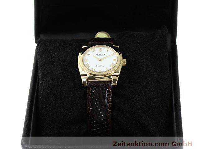 Used luxury watch Rolex Cellini 18 ct gold manual winding Kal. 1602 Ref. 5310  | 140544 07