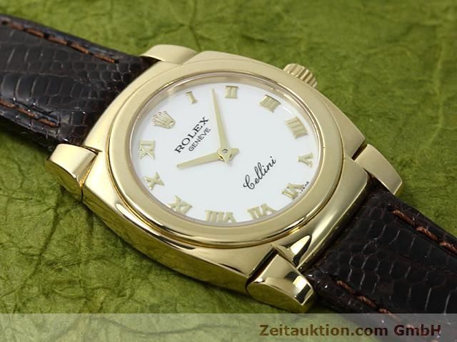 Used luxury watch Rolex Cellini 18 ct gold manual winding Kal. 1602 Ref. 5310  | 140544 14