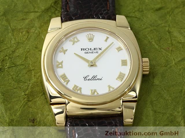 Used luxury watch Rolex Cellini 18 ct gold manual winding Kal. 1602 Ref. 5310  | 140544 15
