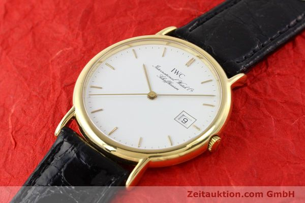 montre de luxe d occasion IWC Portofino or 18 ct quartz Ref. 3331  | 140545 01