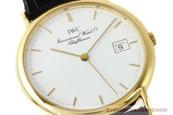 montre de luxe d occasion IWC Portofino or 18 ct quartz Ref. 3331  | 140545 02